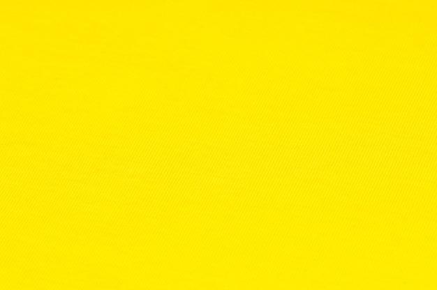 Fond de tissus et textiles de couleur jaune vif