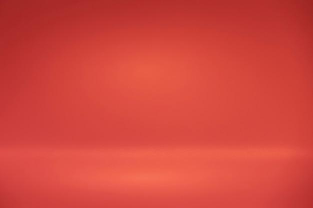 Fond ou toile de fond de couleur rouge, arrière-plan pour texte brut ou produit
