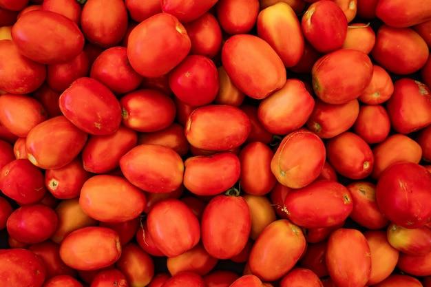 Fond de tomates rouges
