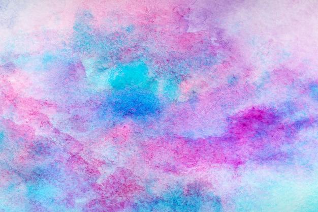 Fond de trait aquarelle splash bleu. grâce au dessin