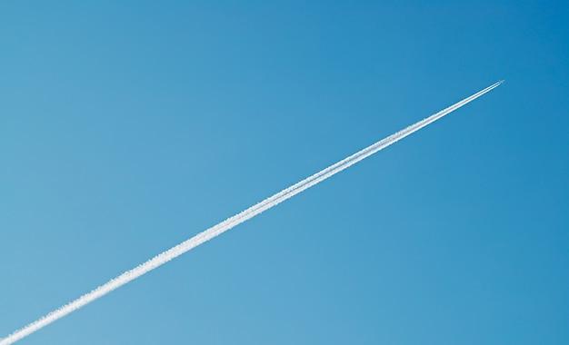 Fond de transport de trace de jet diagonal