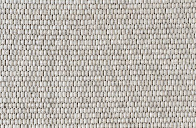 Fond en tricot blanc naturel fait pour chaise