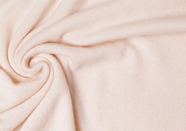 Fond de tricot de cachemire