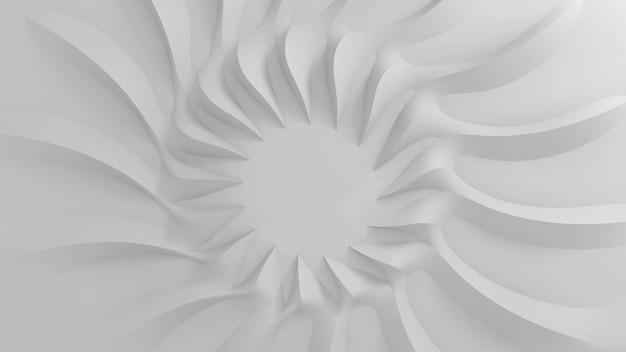 Fond tridimensionnel paramétrique abstrait moderne