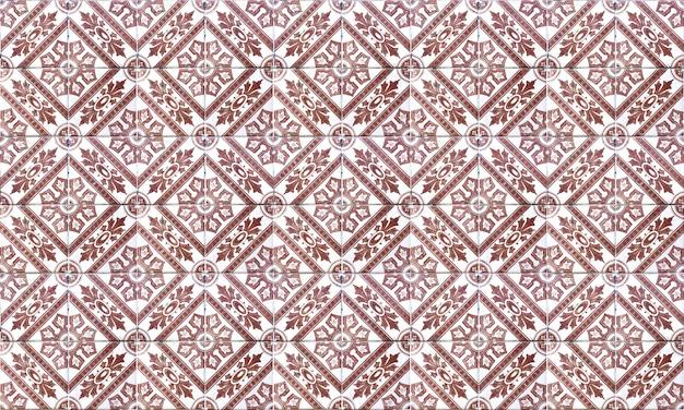 Fond de tuile azulejo sans soudure portugal ou espagne. haute résolution.