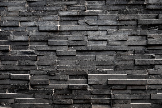 Fond de tuile carrée rectangle noir