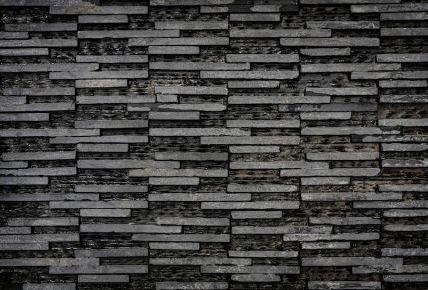 Fond de tuiles modernes rectangle noir et blanc