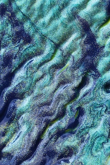 Fond turquoise. texture vert bleu