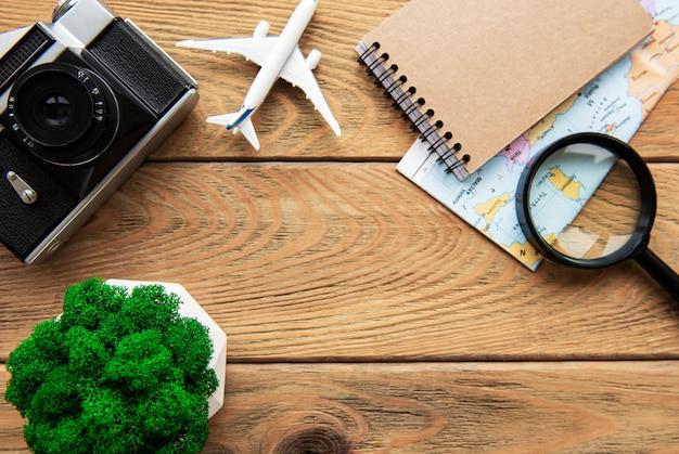 Fond de vacances d'été. concept de voyage