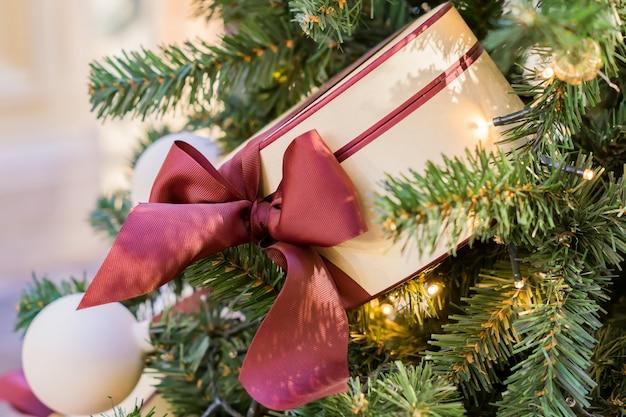 Fond de vacances de noël et du nouvel an