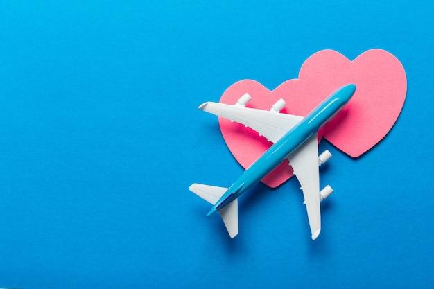 Fond de vacances romantiques