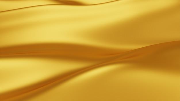 Fond de vague dorée