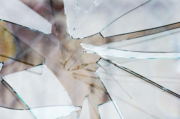 Fond de verre brisé