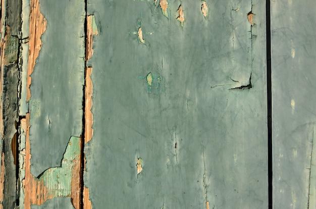 Fond vert clair en bois patiné