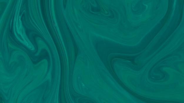 Fond vert de créativité pour la conception liquide abstraite
