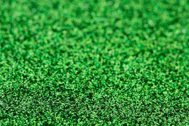Fond vert pailleté