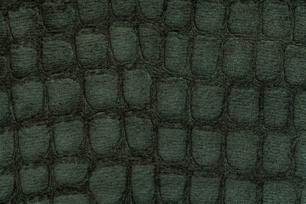 Fond vert de textile d'ameublement doux, gros plan