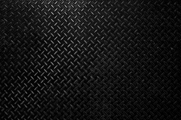 Fond vide en métal en acier noir.