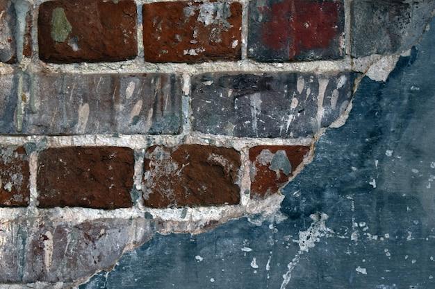 Fond de vieille brique rouge