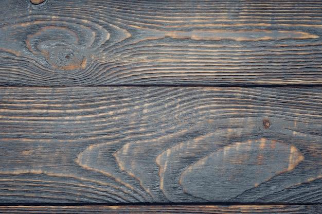 Fond de vieilles planches texturées de couleur sombre.