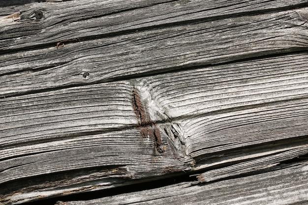 Fond d'un vieux vintage de mur en bois fissuré