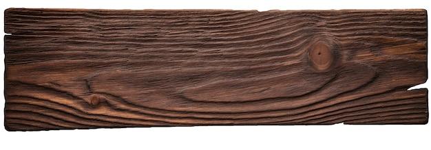 Fond vintage de planche de mur en bois brun bois