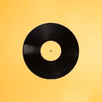 Fond d'un vinyle rétro