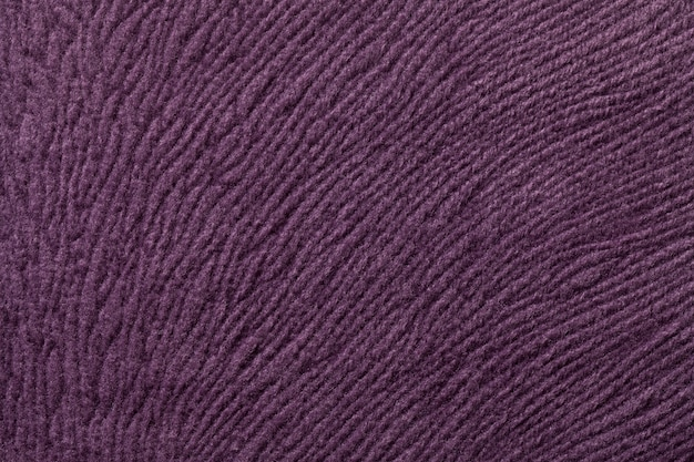 Fond violet foncé de tissu textile doux