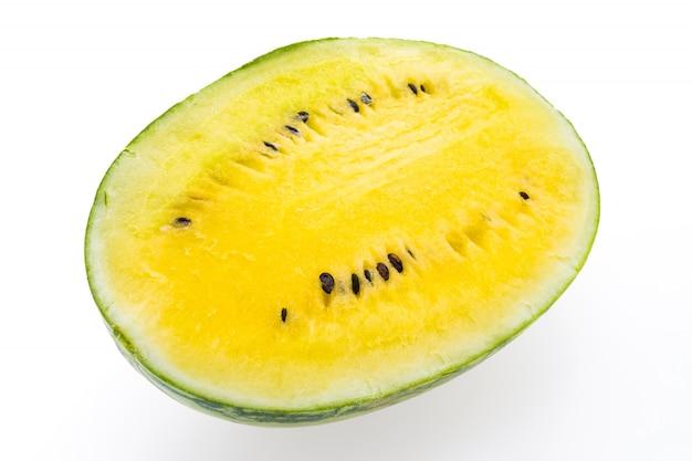 Fond vitamine aliments sucrés jaune