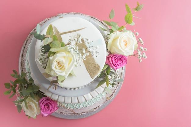 Fondant de gâteau de mariage