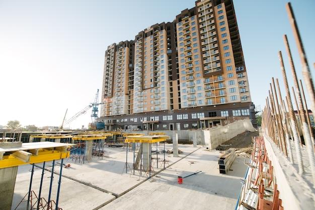 La fondation d'un nouveau gratte-ciel