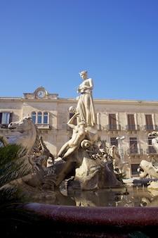 Fontaine d'artémis, syracuse