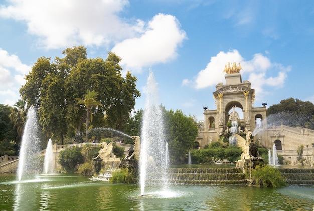 Fontaine à barcelone.