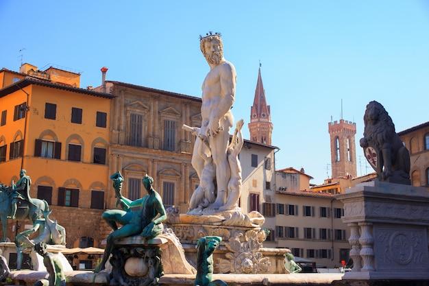 La fontaine de neptune, florence