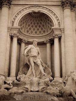 Fontaine de trevi à rome en italie