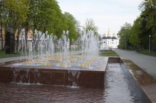Fontaines de la ville