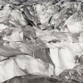 Fonte des glaciers glaciaires