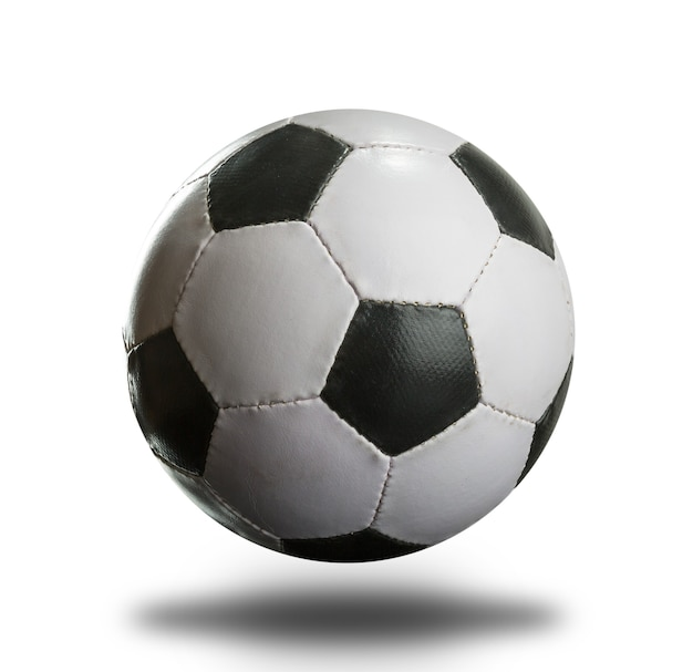 Football sur blanc