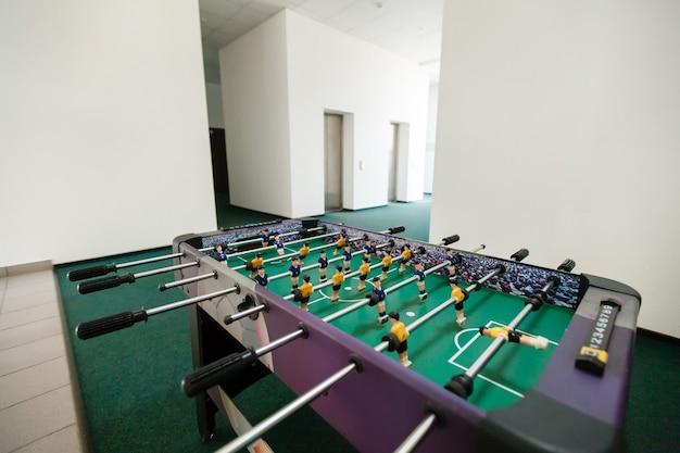 Football de table de baby-foot .sport équipe de joueurs de football