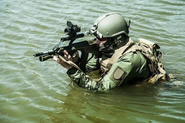 Forces spéciales dans l'eau