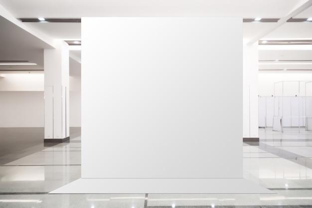 Format - unité de base fabric pop up fond d'écran pour bannière publicitaire, vide