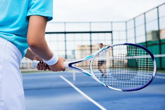 Formation de joueurs de tennis