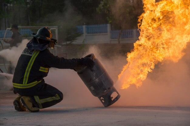 Formation des pompiers