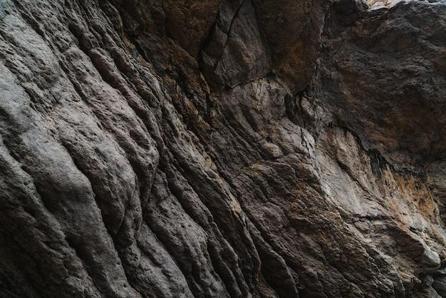 Formation rocheuse, gros plan de texture de pierre
