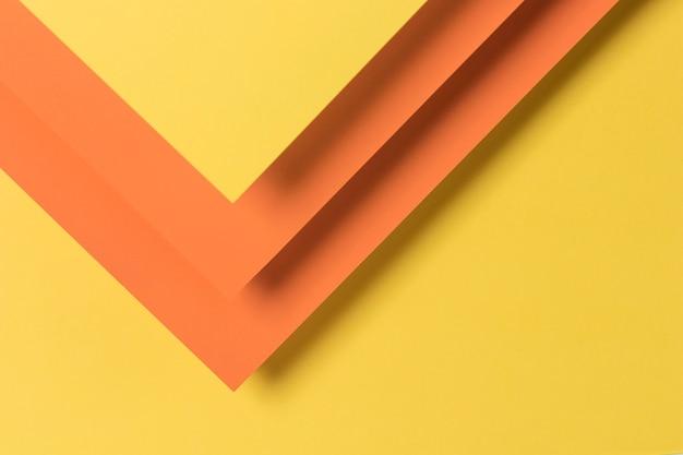 Forme colorée des armoires