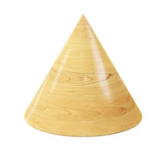Forme de géométrie de bloc en bois