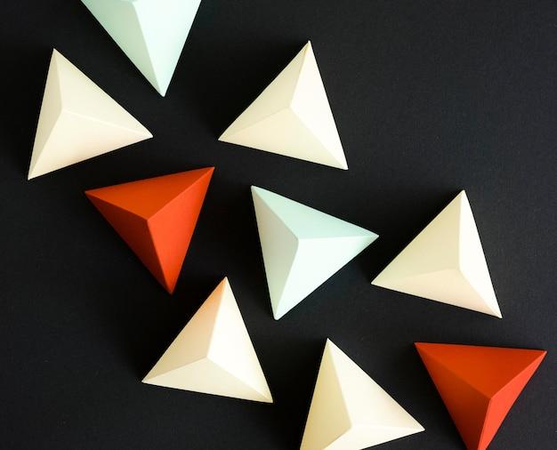 Forme de triangle géométrique