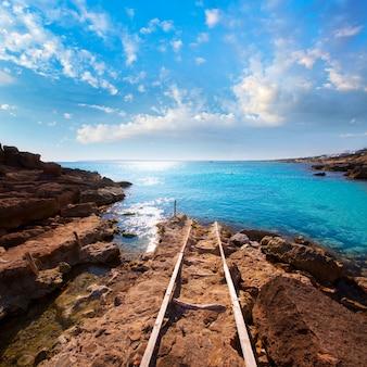 Formentera es calo des mort plage turquoise méditerranée