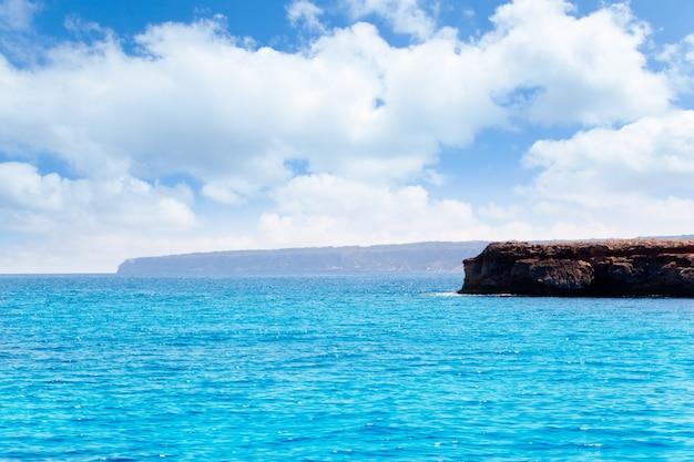 Formentera punta prima dans les îles baléares d'espagne
