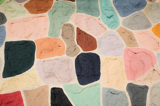 Formes de couleur beauté art de fond